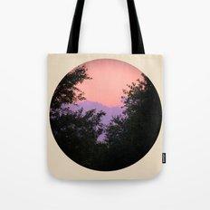 Clouds As Mountains Circular Tote Bag