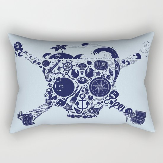 Pirates Stuff Rectangular Pillow
