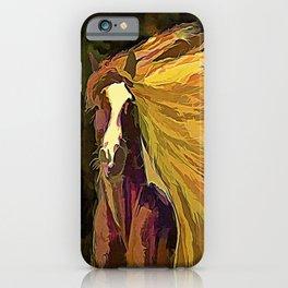 Running Horse iPhone Case