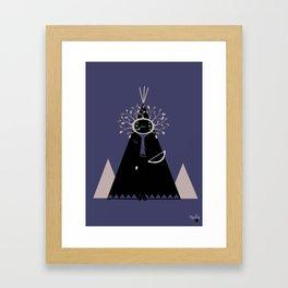 NenaApache Framed Art Print
