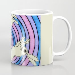 Double Hare Coffee Mug