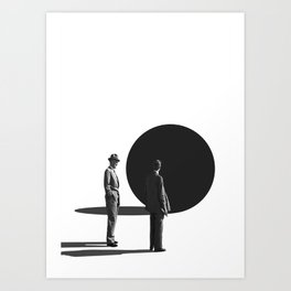 This Mysterious Thing / Ball Trap (2017) Art Print