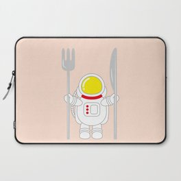 Space Odyssey | Astronaut Eats | Space Utensils | Galaxy Fork and Knife | pulps of wood Laptop Sleeve