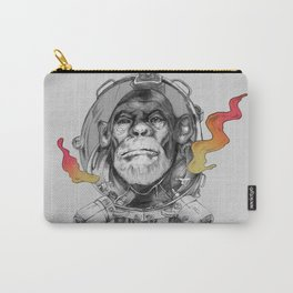 Space Monkey Carry-All Pouch
