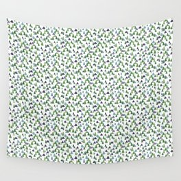 Abstract Watercolor Forest Wall Tapestry