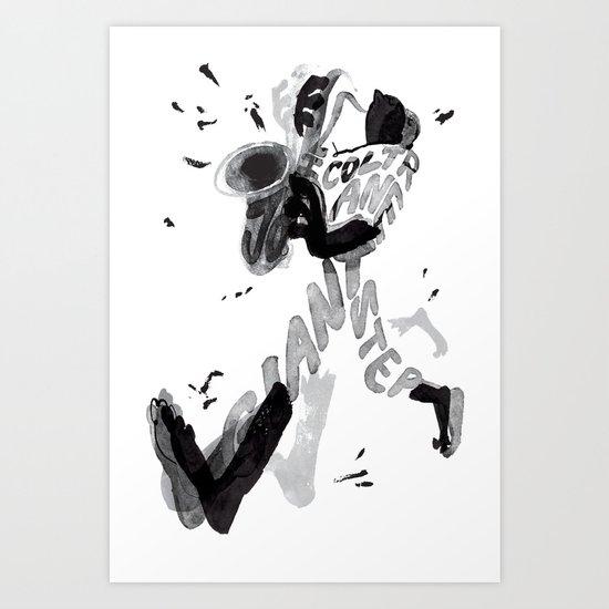 Giant step Art Print