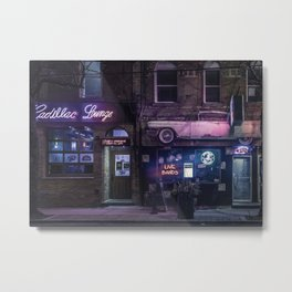 Cadillac Lounge Metal Print