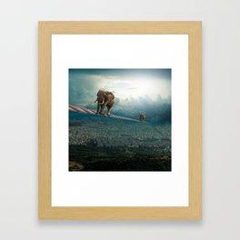 Thessaloniki Framed Art Print