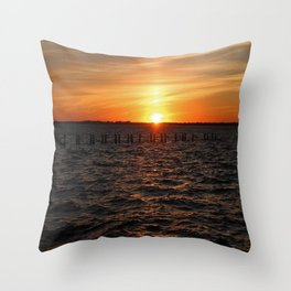 Moments of Serenity Throw Pillow