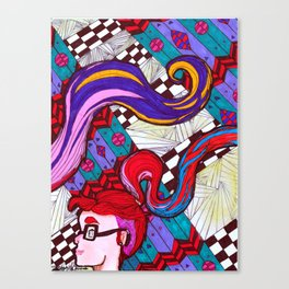 Guy's Crush I Canvas Print