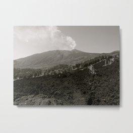 Etna Metal Print