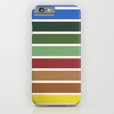 The colors of - Castle in the sky Slim Case iPhone 6s
