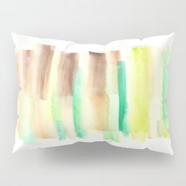 [161228] 18. Abstract Watercolour Color Study |Watercolor Brush Stroke Pillow Sham