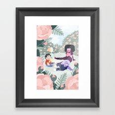 Steven Universe Gems Framed Art Print