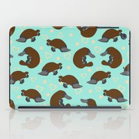 platypus iPad Cases featuring Platypus Love by Joanne Paynter
