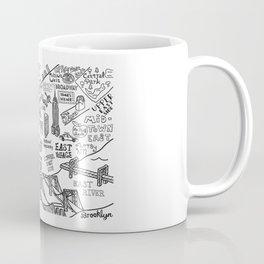 New York City Map Coffee Mug