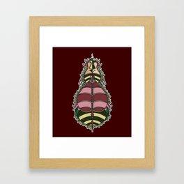 BEE LOVER Framed Art Print