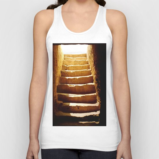 Steps to tomb Unisex Tank Top