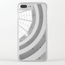 Guggenheim Interior | Frank Gehry | architect Clear iPhone Case