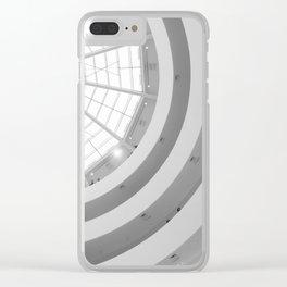 Guggenheim Interior | Frank Lloyd Wright Architect Clear iPhone Case