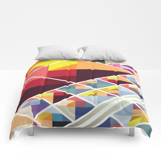 Let's Stick Together Comforters