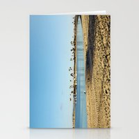 san diego Stationery Cards featuring San Diego by Audrey Mourgues