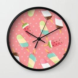Ice cream 005 Wall Clock