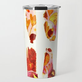 floral bits Travel Mug