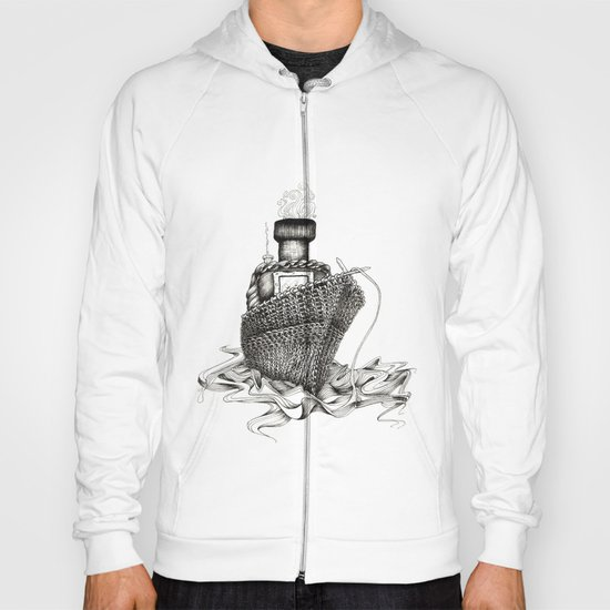 Knitted Ship Hoody