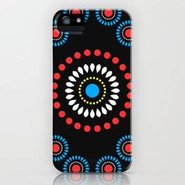 African Diamond (Red) iPhone Case