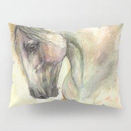 white horse Pillow Sham