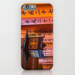Fushimi Inari Lamp iPhone Case