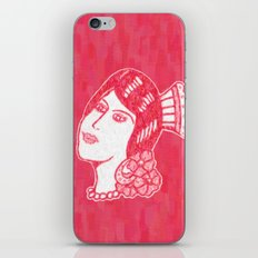 Lady from Spain iPhone & iPod Skin