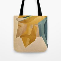 jesus Tote Bags featuring Jesus by Riccardo Guasco