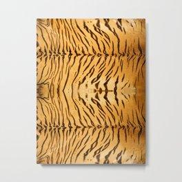 Tiger Animal Print Metal Print