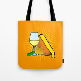 Swiss Cheese Raclette Party Tote Bag
