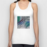 data Tank Tops featuring Data by MonsterBrown