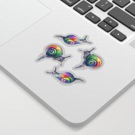 Thirsty Snails Sticker
