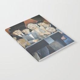 Classic Celebrities Notebook