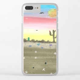 skyscapes 8 Clear iPhone Case