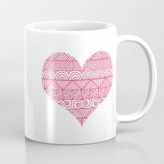 Patterned Valentine Mug
