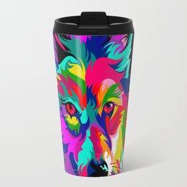 Wild Wolf Travel Mug