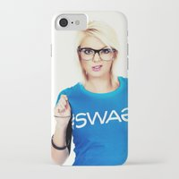 swag iPhone & iPod Cases featuring Swag by Taylor Brynne-Model
