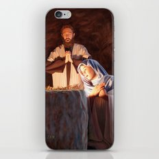 God in a Manger iPhone & iPod Skin