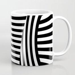 Retro Black And White Coffee Mug