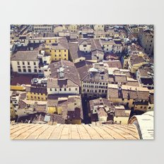 Overlooking Florence Canvas Print