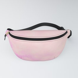Pink Island Skies Fanny Pack