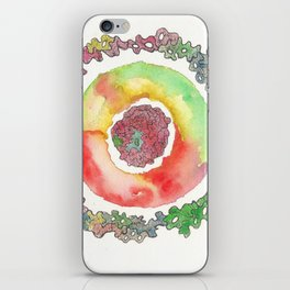 170321 Spring Watercolour 16 iPhone Skin