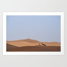 Searching For Peace Art Print