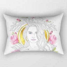 Queen of Roses Rectangular Pillow